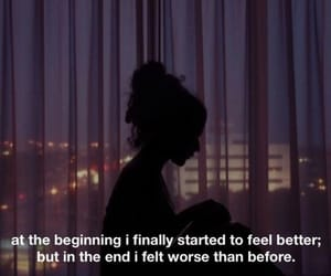 alone, girl, and self harm image