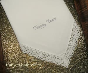 embroidered, happily ever after, and something blue image