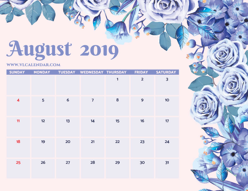 August 2019 Calendar Printable Monday Start.August 2019 Calendar Printable Templates On We Heart It