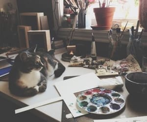 aesthetic, art, and paints image