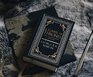 aesthetic, book, and game of thrones image