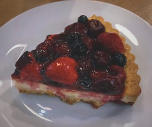 berry, food, and pie image