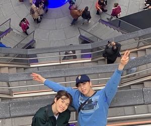 america, doyoung, and johnny image