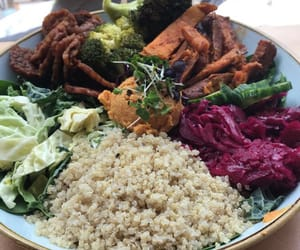 delicious, quinoa, and dinner image