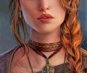 digital art, fantasy, and fairy warrior image