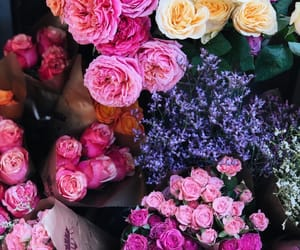 art, bouquet, and colorful image