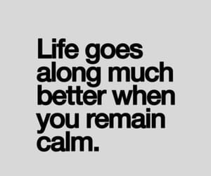 better, calm, and keep calm image
