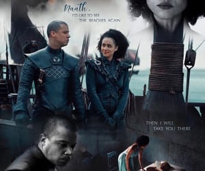 tumblr, jacob anderson, and emilia clarke image
