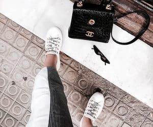 fashion, shoes, and sunglasses image