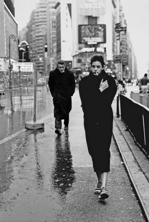 black and white, liv tyler, and photography image