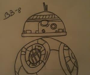 dibujo, bb-8, and robot image