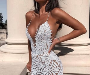 bling, dress, and fashion image