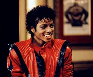 king of pop, michael jackson, and thriller image