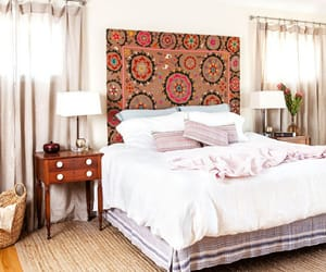 bedroom, interiors, and decor image