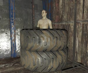 dirt, hideout, and tires image