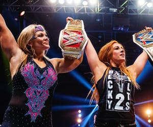wwe, beth phoenix, and becky lynch image
