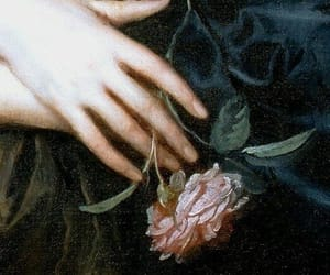 angel, art, and flower image