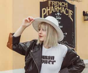 fashion, french, and graphic image