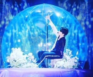 aesthetic, blue, and bts image