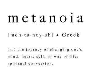 metanoia image