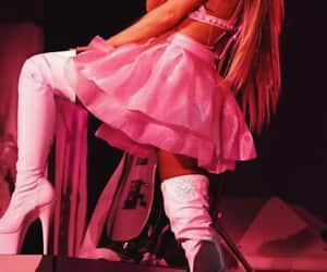 pink, wallpaper, and ariana grande image