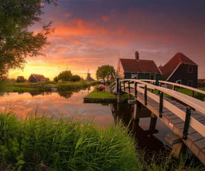 bridge, summer, and netherlands image