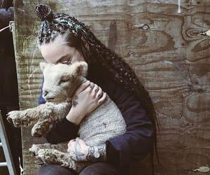 anna, braids, and box braids image