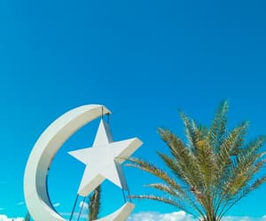 blue, mosque, and sunny day image