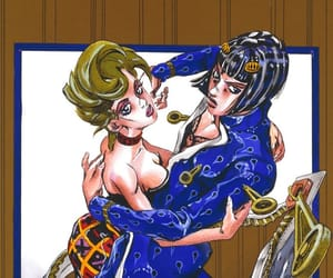 jojo, jjba, and trish image