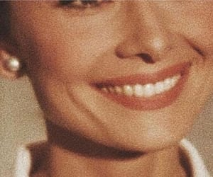 audrey hepburn, smile, and laugh image