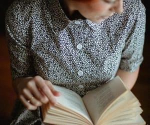 books and portrait image