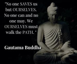 spirituality, inspirational quotes, and buddha quotes image