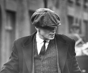 thomas shelby, cillian murphy, and peaky blinders image