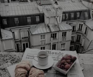 paris, coffee, and breakfast image