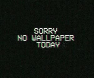 wallpaper, sorry, and today image