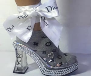 dior, fashion, and heels image