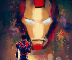 digital art, fanart, and tony stark image