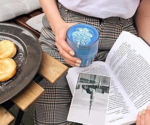 blue, books, and chic image