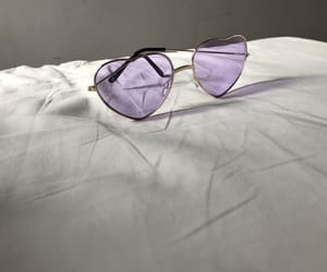 lilac, purple, and sunglasses image