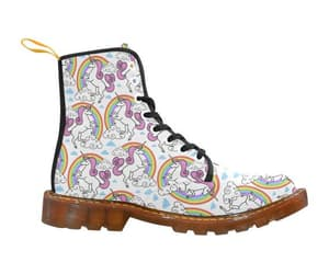 artistic, pattern, and martin boots image