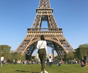 eiffel tower, france paris, and france image