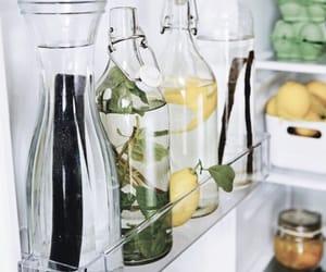 fridge, mint, and lemon image