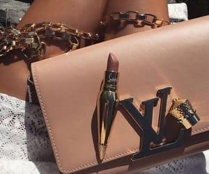 bag, chic, and lipstick image