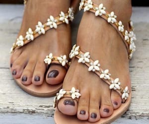 sandals, summer, and fashion image