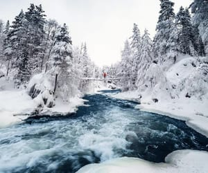 winter, landscape, and photography image