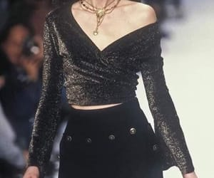 fashion show and 90's image