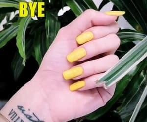 lemon, oje, and sarı image
