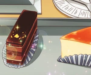 anime, anime scenery, and anime dessert image