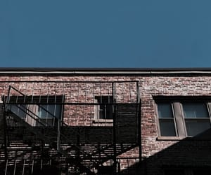 blue sky, buildings, and builds image