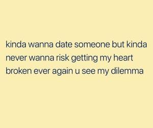 breakup, crush, and date image